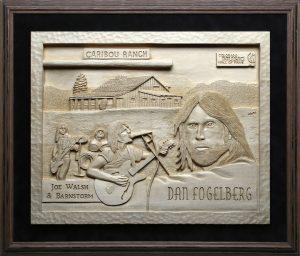 Dan Fogelberg   Colorado Music Hall of Fame   Don Woodard Art