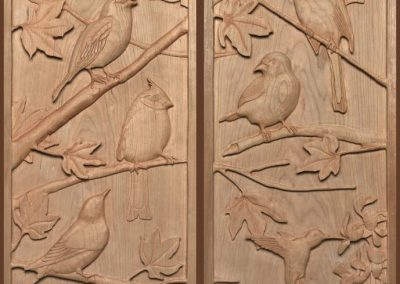Birds - Custom Organ Panels