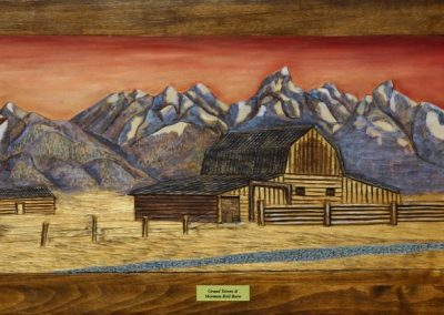 Grand Tetons and Mormon Row Barn