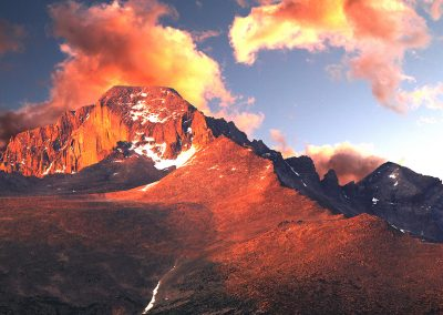 Longs Peak_14259ft_Sunrise