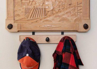 Reno Steam Locomotive - Hat & Clothes Rack